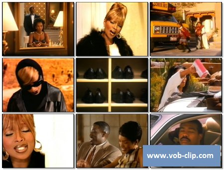 Mary J. Blige - Not Gon' Cry (Videopool UK Version) (1995) (VOB)