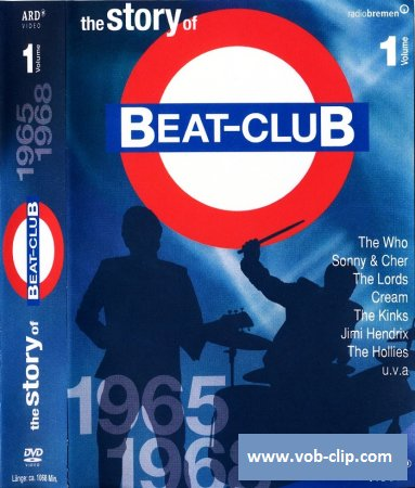 The Story Of Beat-Club: 1965-1968 (Volume 1) (2008) (8xDVD9)