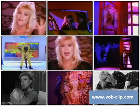 Samantha Fox - I Only Wanna Be With You (Telegenics Version) (1989) (VOB)