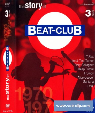 The Story Of Beat-Club: 1970-1972 (Volume 3) (2008) (8xDVD9)