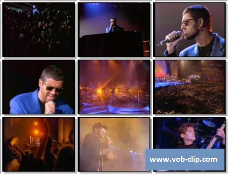 George Michael With Elton John - Dont Let The Sun Go Down On Me (1992) (VOB)