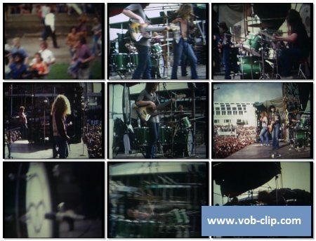 Led Zeppelin - Immigrant Song (Live at Sydney Showground) (1972) (VOB)