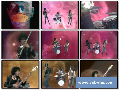 Thin Lizzy - The Rocker (From Top Pop) (1974) (VOB)