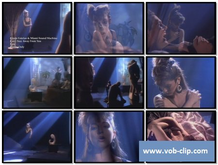 Gloria Estefan & Miami Sound Machine - Can't Stay Away From You (Promo Only Version) (1987) (VOB)
