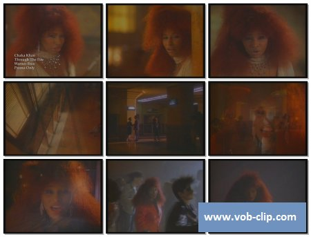 Chaka Khan - Through The Fire (1984) (VOB)