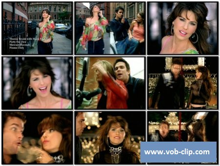 Shania Twain feat. Mark McGrath - Party For Two (2008) (VOB)
