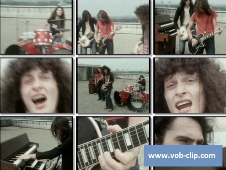 Golden Earring - She Flies On Strange Wings (TV Show Pop Van Jan De With (AVRO) (1971) (VOB)