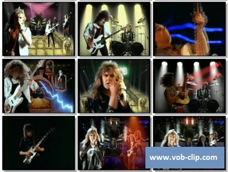 Saxon - I Can't Wait Anymore (1988) (VOB)