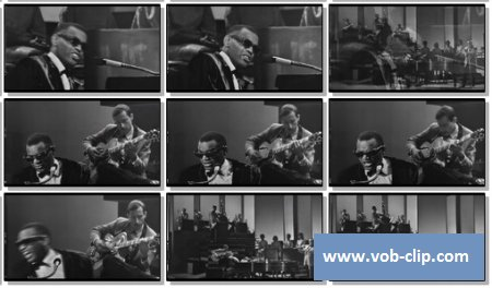 Ray Charles - Georgia On My Mind (The Big T.N.T.Show 1966) (1966) (VOB)