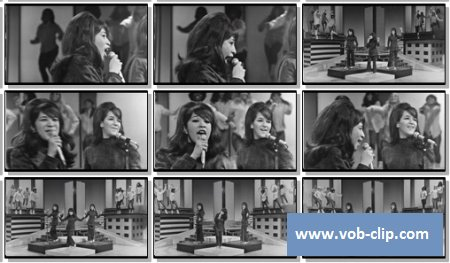Ronettes - Be My Baby (The Big T.N.T.Show 1966) (1966) (VOB)