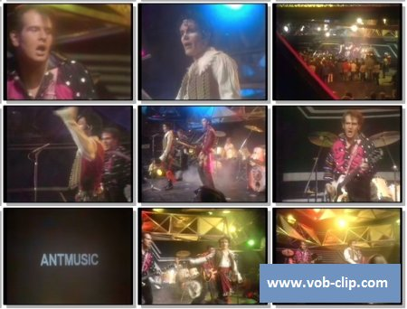 Adam And The Ants - Ant Music (From Top Of The Pops) (1980) (VOB)