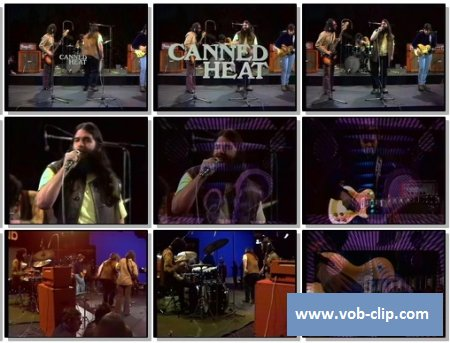 Canned Heat - Let's Work Together (1970) (VOB)