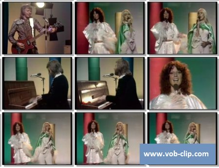 ABBA - S.O.S. (From Top Pop) (1975) (VOB)