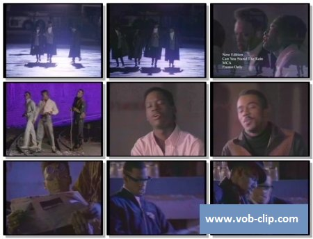 New Edition - Can You Stand The Rain (1988) (VOB)