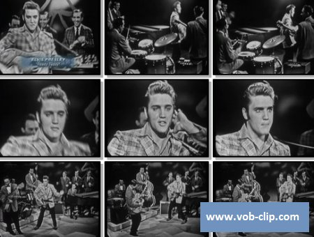 Elvis Presley - Ready Teddy (From The Ed Sullivan Show) (1956) (VOB)