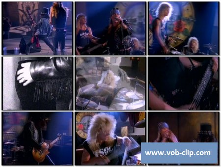 Guns N' Roses - Sweet Child O' Mine (Telegenics Version) (1987) (VOB)