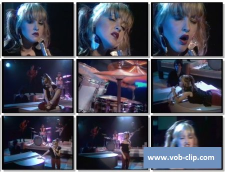 Blue Angel (Cyndi Lauper) - I'm Gonna Be Strong (From Top Pop) (1980) (VOB)