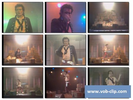 Adam Ant - Goody Two Shoes (Top Pop Version) (1982) (VOB)