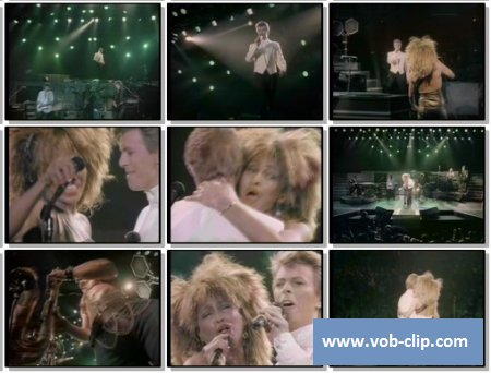 Tina Turner And David Bowie - Tonight (1984) (VOB)
