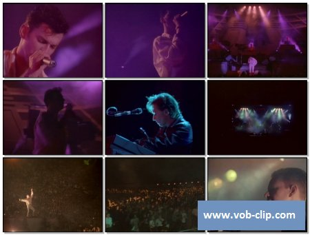 Depeche Mode - Never Let Me Down Again (101 Live) (1988) (VOB)
