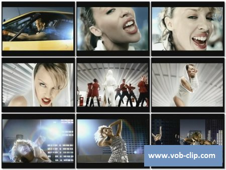 Kylie Minogue - Can't Get You Out Of My Head (MixMash Version) (2001) (VOB)