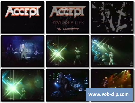 Accept - Metal Heart (1985) (VOB)