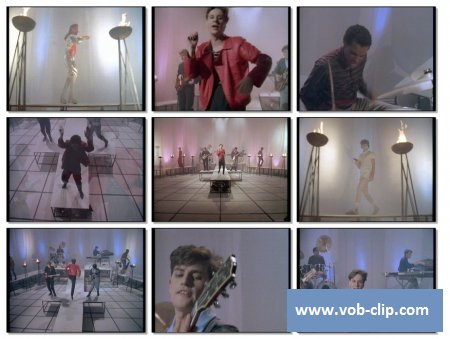 Simple Minds - Up On The Catwalk (1984) (VOB)