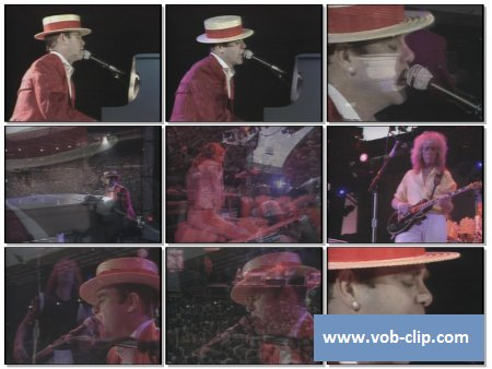 Elton John - Your Song (Live) (1984) (VOB)