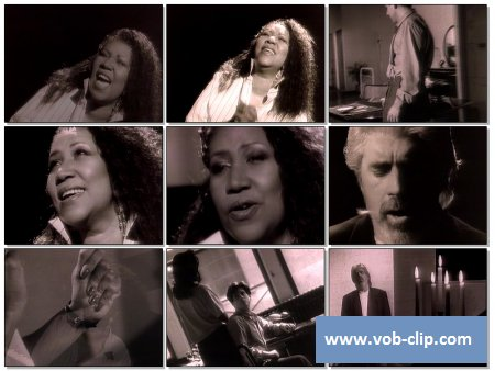 Aretha Franklin & Michael McDonald - Ever Changing Times (1992) (VOB)