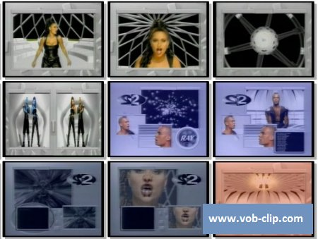 2 Unlimited - Do What's Good For Me (Alex Party Remix) (VJ-Pro Version) (1995) (VOB)