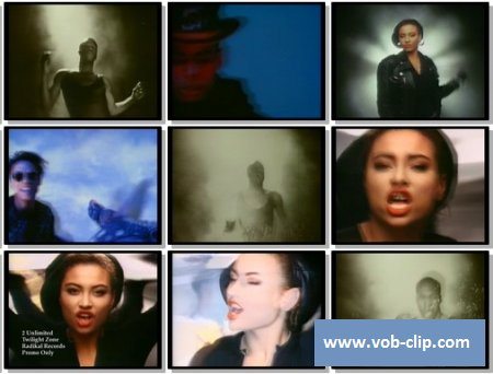 2 Unlimited - Twilight Zone (Radio Edit) (Promo Only Version) (1992) (VOB)