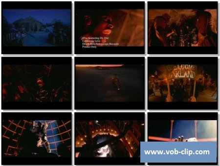 2Pac Feat. Dr.Dre - California Love (Promo Only Version) (OST Mad Max Beyond Thunderdome) (1995) (VOB)