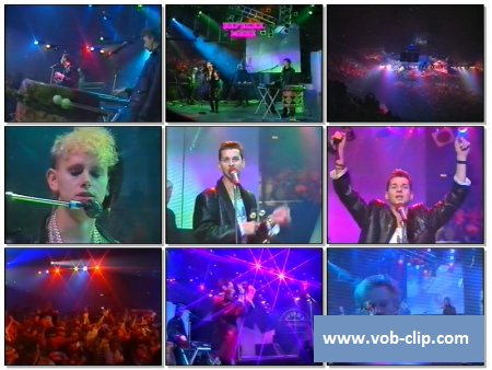Depeche Mode - Shake The Disease (Peter's Pop Show) (1985) (VOB)