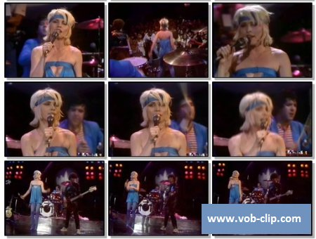 Blondie - Heart of Glass (The Midnight Special) (1979) (VOB)