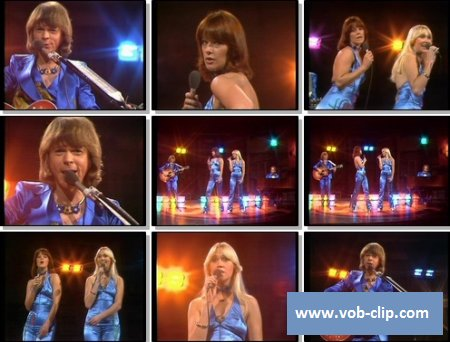 ABBA - Honey Honey (From Musikladen) (1976) (VOB)