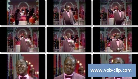 Louis Armstrong - Cabaret (From The Ed Sullivan Show) (1966) (VOB)
