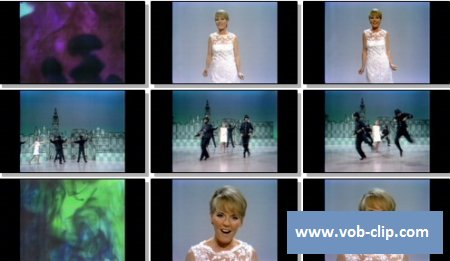 Petula Clark - Color My World (From The Ed Sullivan Show) (1967) (VOB)