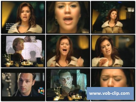 Kelly Clarkson - The Trouble With Love Is (2003) (VOB)