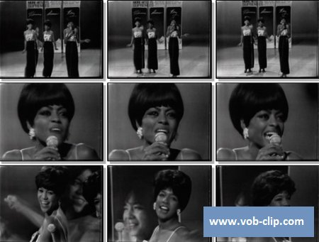 Supremes - Nothing But Heartaches (From Hullabaloo TV Show) (1965) (VOB)
