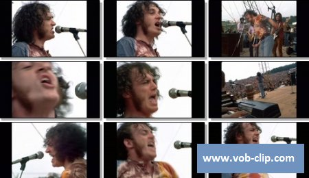 Joe Cocker - Something's Coming On (Live At The Woodstock Festival, U.S.A) (1969) (VOB)