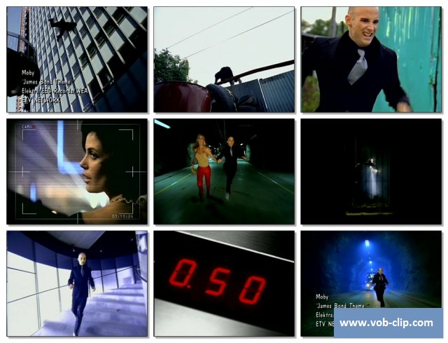 Moby - James Bond Theme (1997) (VOB)