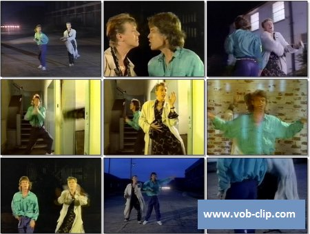 David Bowie & Mick Jagger - Dancing In The Streets (Telegenics Version) (1985) (VOB)