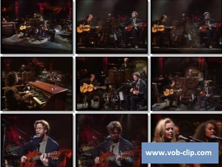 Eric Clapton - Tears in Heaven (Live MTV Unplugged, Bray Studios, UK) (1992) (VOB)