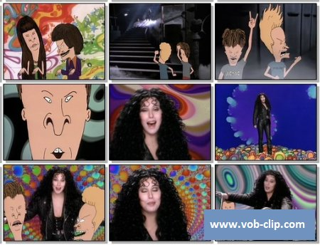 Cher With Beavis And Butt-Head - I Got You Babe (1993) (VOB)