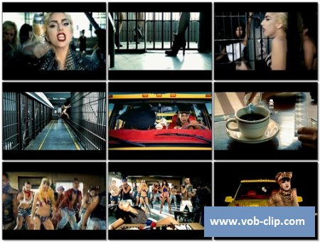 Lady Gaga Feat. Beyonce - Telephone (Short Version) (2009) (VOB)