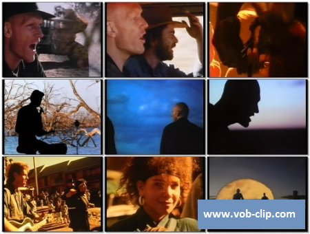 Midnight Oil - Beds Are Burning (Video Pool UK Version) (1987) (VOB)