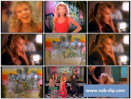 Kylie Minogue - The Loco-Motion (Telegenics Version) (1988) (VOB)