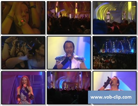 Dj Bobo - Medley (There Is A Party - It's My Life - What A Feeling - Pray) (The Dome Chartparty Live) (1997) (VOB)