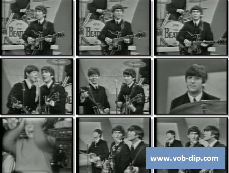 Beatles - All My Loving (From The Ed Sullivan Show) (1964) (VOB)