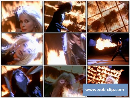 Lita Ford - Playin With Fire (Magical Flight) (1991) (VOB)
